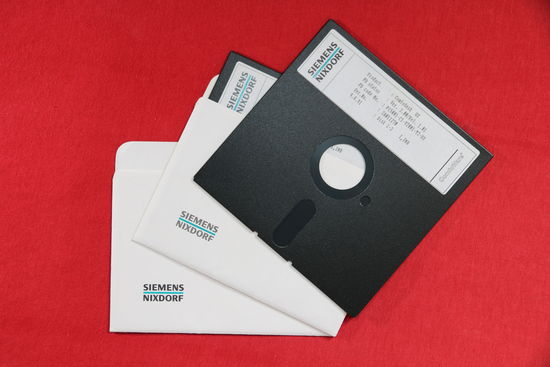 Siemens Nixdorf: ComfoDesk – diskety