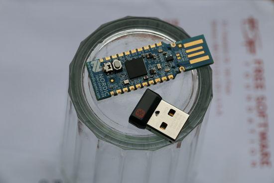 Nordic nRF52840, Logitech, bezpečnost bezdrátových myší a klávesnic, MouseJack