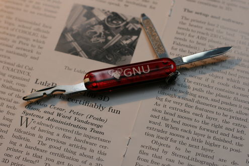GNU rally knife (Victorinox)